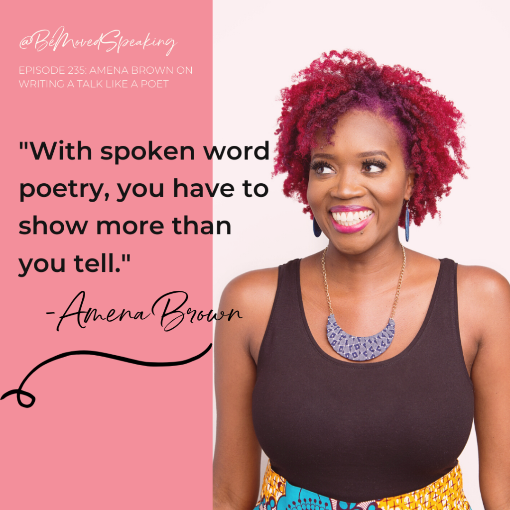 Amena Brown This Moved Me